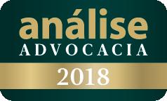Eleito Escritório / Advogado(a) Mais Admirados -  Análise Advocacia 2018, 2017 e 2015