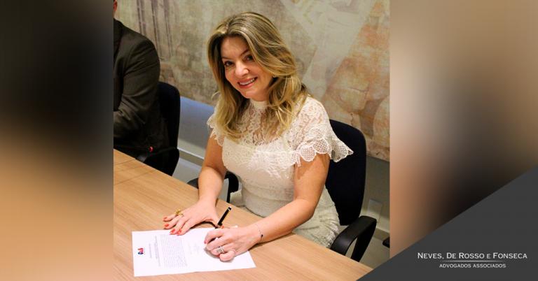 Sócia Rossana Daly de Oliveira Fonseca toma posse como vice-presidente da OAB/RN