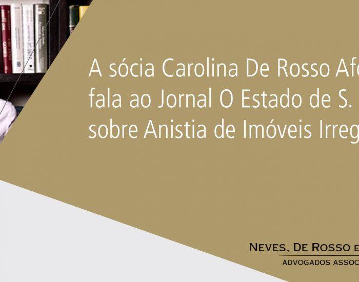 Matéria Estadão 200319