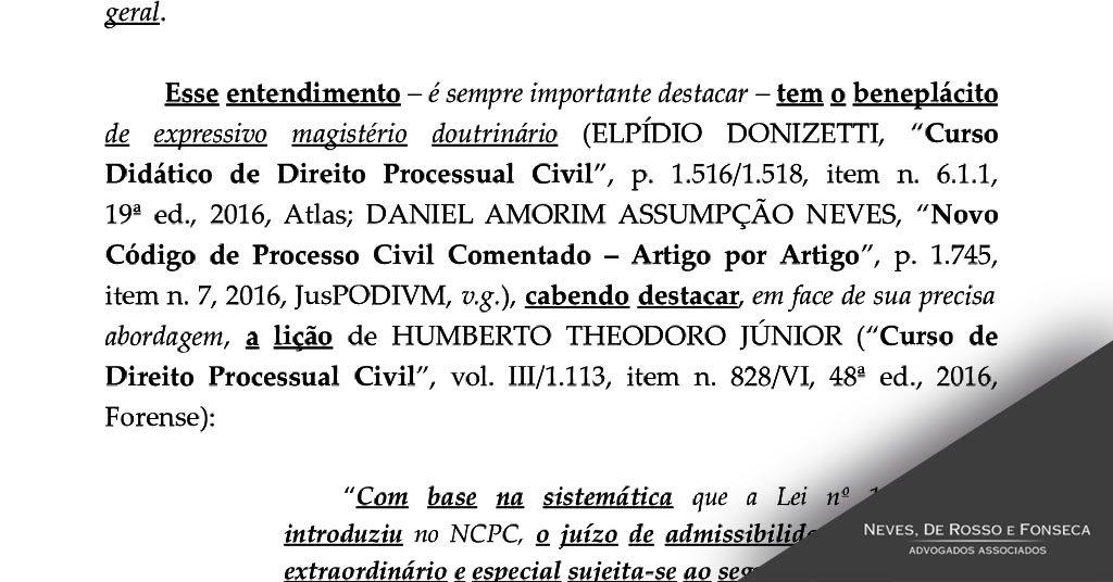 Acordao STF Daniel Neves