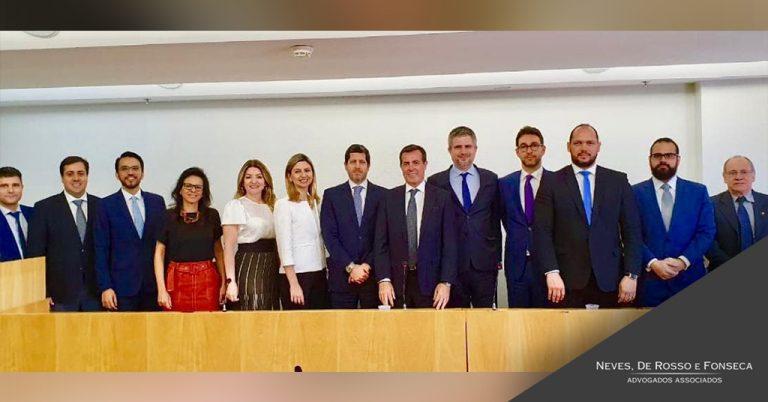 encontro dos Presidentes das comissões de Arbitragem