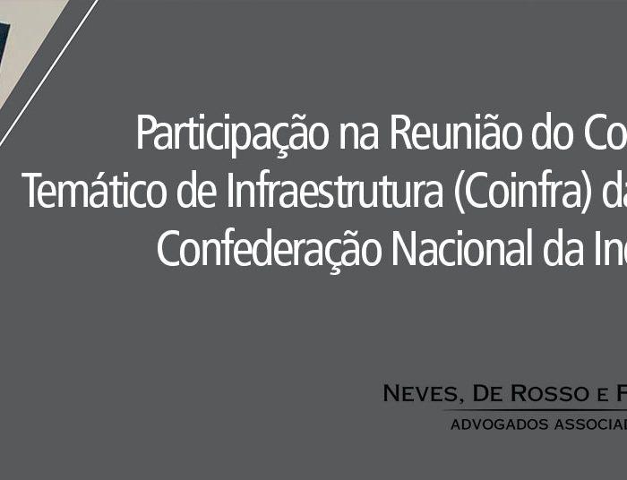Reuniao Coinfra CNI
