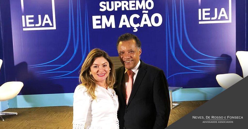 Sócia Rossana Fonseca participa de seminário promovido pelo IEJA